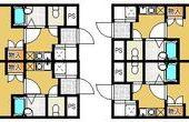 【地下鉄室見駅徒歩10分!】ホワイトハウス室見のサムネイル
